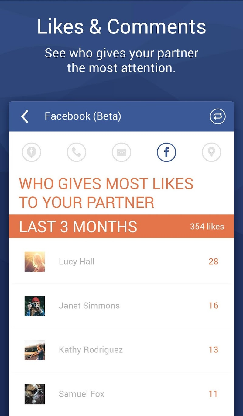 Couple Tracker Pro - Cell phone monitoring Screenshot 19