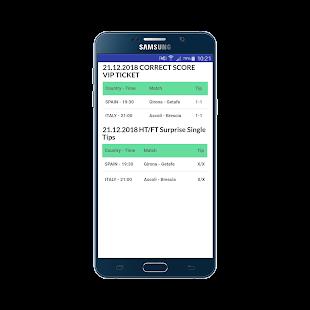 HT/FT Ticket Fixed Matches VIP 100% Screenshot