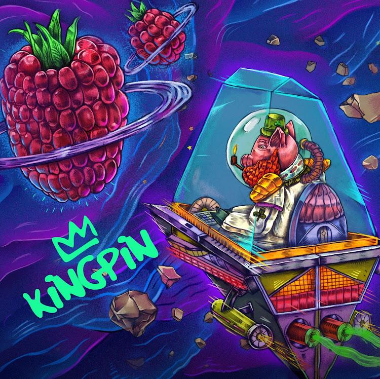 Logo of Kingpin Turbo Geezer Raspberry Bourbon Barrel-Aged