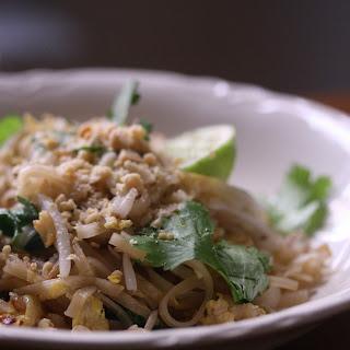 Vegetable Pad Thai.