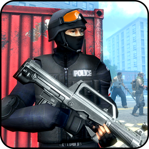 Police Strike Vs Gangster Fire: Free Modern Strike Android APK Download Free By Fun Shooting Games 2k19