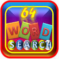 64 Word Search Puzzle Game
