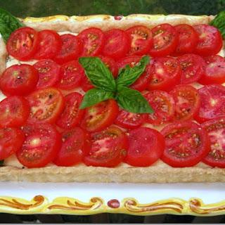 Tomato-Goat Cheese Tart.