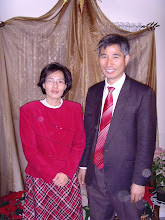 Photo: Missionary John and Grace Baik