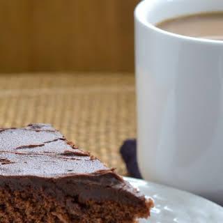 Rustic Chocolate Cake.