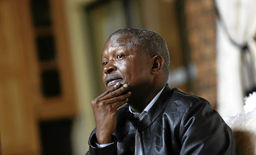 David Mabuza. File photo.