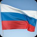 Russia Flag Live Wallpaper icon