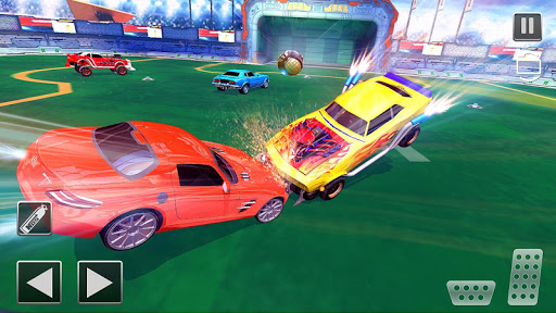 Rocket Car Football Soccer League Champion screenshot 14