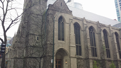 Photo: vine covered church as I started to walk down the Magnificent Mile