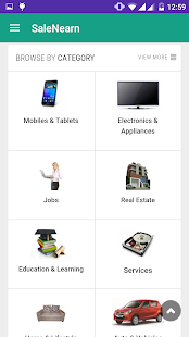 SaleNEarn Free Classifieds- screenshot thumbnail