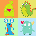 Funny Monsters Memory Game icon