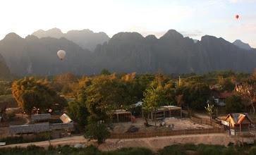 Photo: Day 303 - Hot Air Balloons, Vang Vieng (Laos)