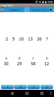 Logický test - IQ - náhled