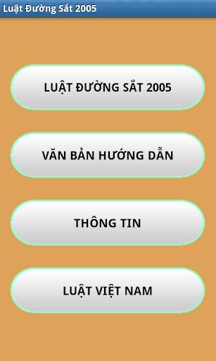Luat Duong sat Viet Nam 2005