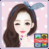 헷지 HappyDay 카카오톡 테마