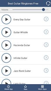 Kytara Vyzvánění na Mobil - náhled