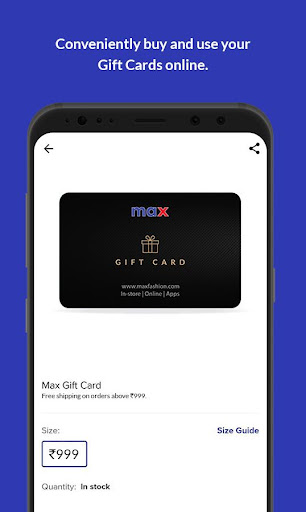 Max Fashion India screenshot 4