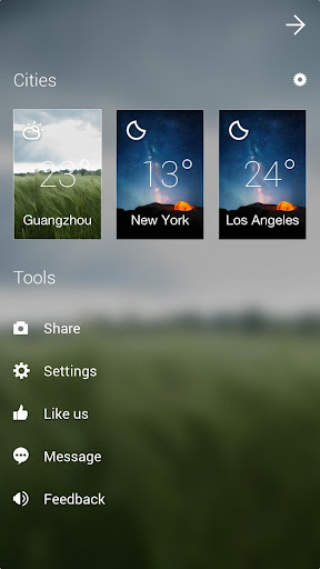 GO Weather Forecast & Widgets screenshot 7