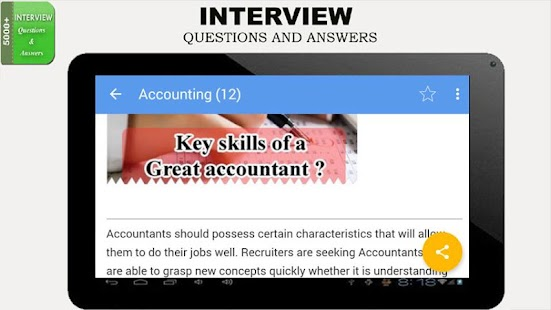 Interview Questions Answers- screenshot thumbnail