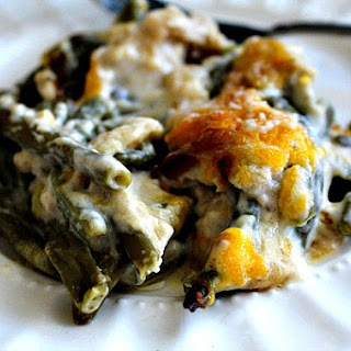 Cheesy Green Bean Casserole Without Cream Of Mushroom Soup Recipes