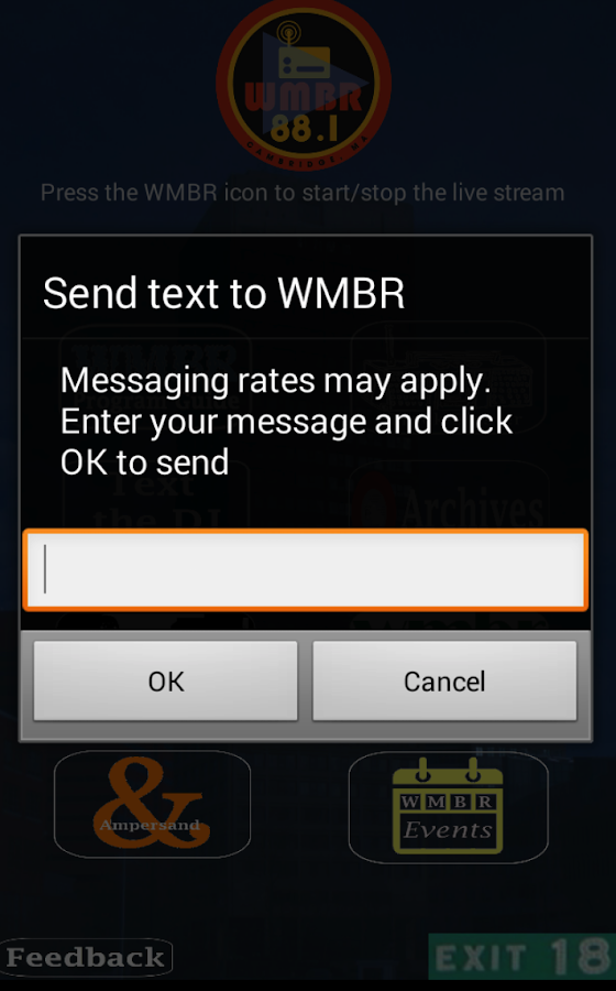 WMBR- screenshot
