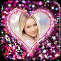 Glitter Romantic Love Frames icon