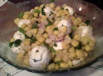 Corn Salsa & Herb Cheese Ball Recipe