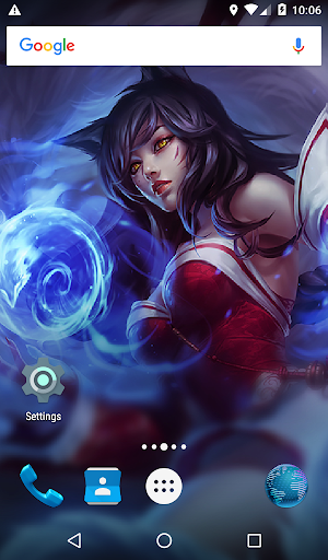 Download Ahri HD Live Wallpapers For PC