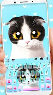 Sad Kitten Keyboard Theme 1.0 APK Mod Latest Version 1