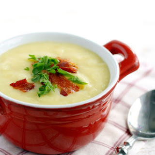 Creamy Potato Leek Soup..