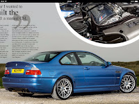 Estoril Blue BMW M3 CSL