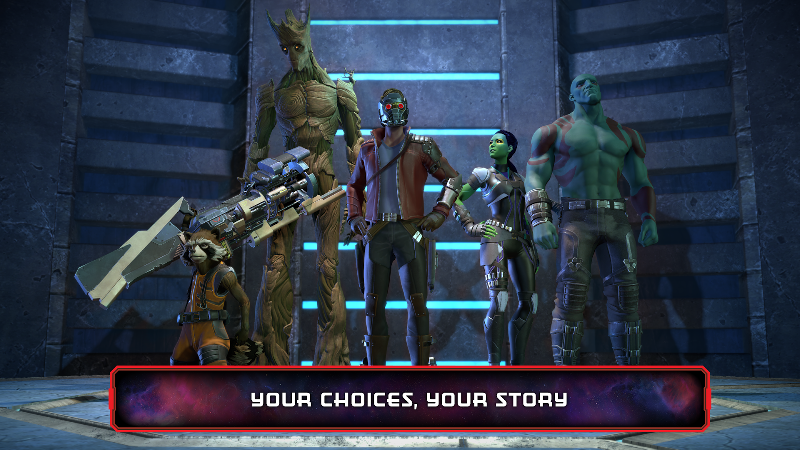 Marvel's Guardians of the Galaxy: The Telltale Series - Episode 1-5 (RUS|ENG|MULTI9) [REPACK]