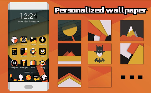 Vigour Icons- Icon Pack Apps for Android screenshot