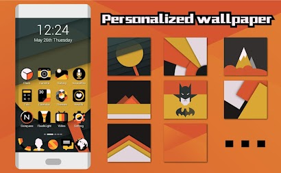 Vigour Icons- Icon Pack APK screenshot thumbnail 2