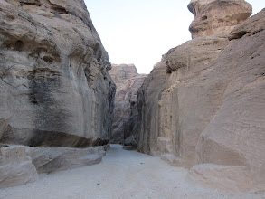 Photo: Entering the Siq
