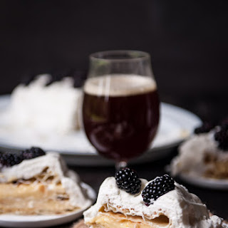 Puff Pastry Cake with Maple Ale Pastry Cream