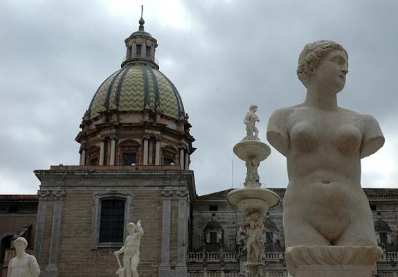 Statue a Palermo di giannitti1970