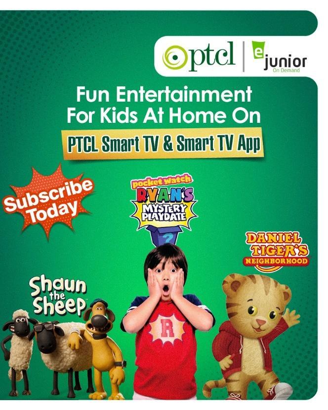PTCL Smart TV and Smart TV App