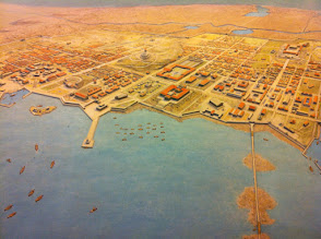 Photo: Alexandria, from the air? @ American Museum of Natural History