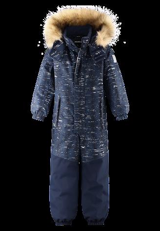 Reimatec Bergen 520279-6981 Navy reflekterende vinterdress