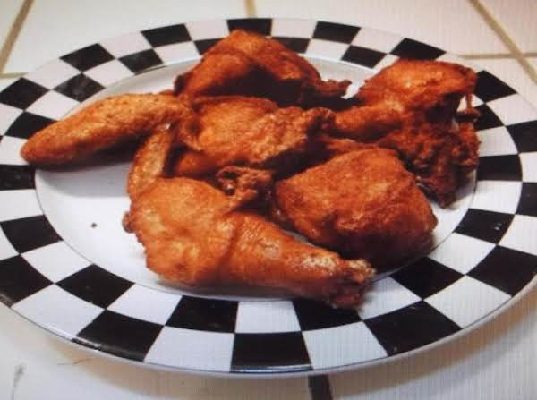 Slow Cooked Oven Fried Chicken
