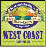 Logo of Green Flash West Coast IPA