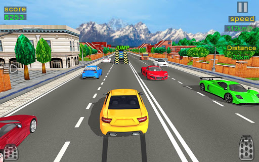 Highway Car Racing 2020: Traffic Fast Racer 3d apkpoly screenshots 5