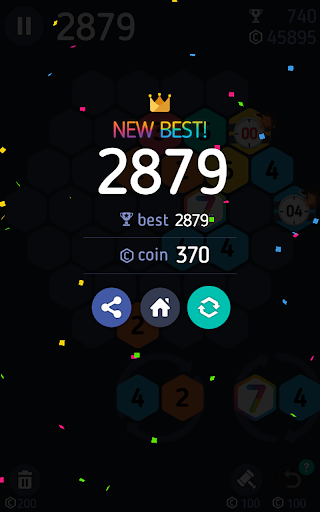 Make7! Hexa Puzzle screenshot 17