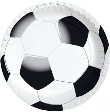 Papptallrikar - Fotboll