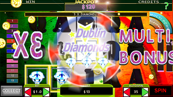 Dublin Diamonds SLOT - náhled