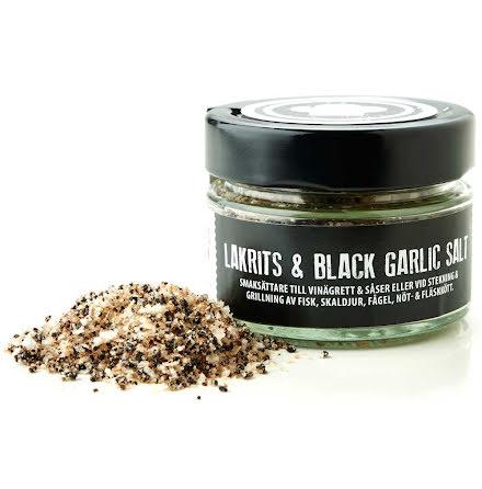 Lakrits & Black Garlic Salt – Lakritsfabriken i Ramlösa & Lakritskocken