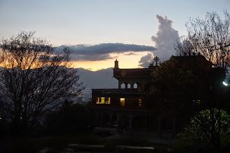 Photo: Rigpe Dorje Institute at Twilight