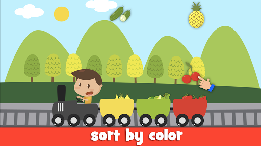 Learn fruits and vegetables - games for kids  screenshots 2