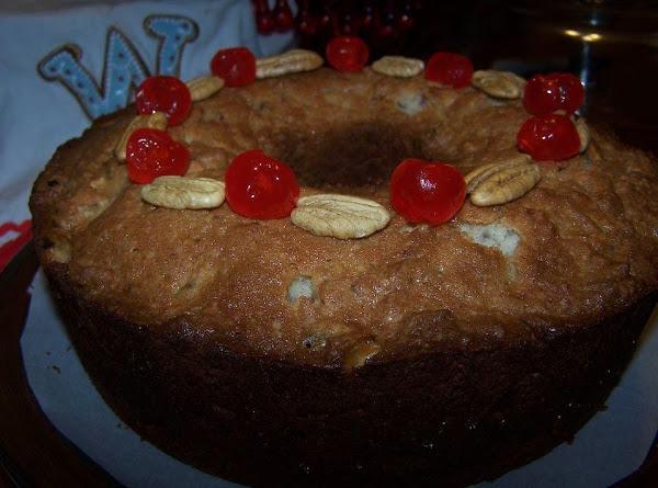 Cousin Mabel's Fruitcake Recipe